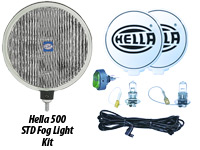 "Hella 500 6"" Fog Lamp Kits"