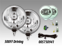 "Hella 500 6"" Driving Lamp Kits"
