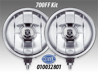 "Hella 700FF 7"" Driving Lamp Kit"