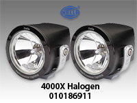 Hella Rallye 4000X Halogen Lights