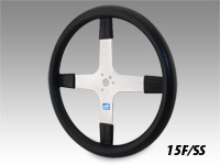 "Schroeder 15"" Stainless Steering Wheel"