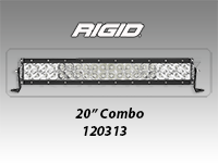 "RIGID E Series Pro 20"" LED Light Bar"