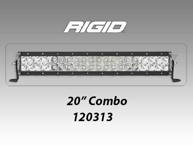 Race ready rigid e series pro 20 led light bar e series pro 20 led lights aloadofball Image collections