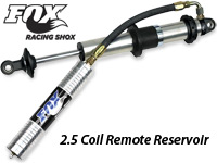 FOX 2.5 Coil Remote Reservoir Shock