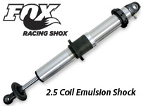 Fox 2.5 Coil Emulsion Shock