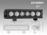 Hella Value Fit Design Series Light Bars