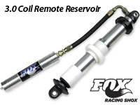 FOX 3.0 Coil Remote Reservoir Shock
