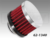 K&N Rubber Base Crankcase Vent Filters