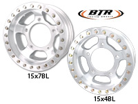 BTR Beadlock Racing Wheels
