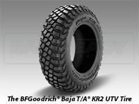 The BFGoodrich® Baja T/A® KR2 UTV Tire
