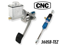 CNC Series 360 Reverse Swing Mount Clutch Pedal Package