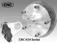 CNC Series 654 Front Disc Brake Kit-Beam Susp.