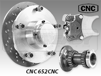 CNC Series 652 Front Disc Brake Kit-A Arm Suspension