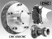 CNC Series 656 Front Disc Brake Kit-A Arm Suspension