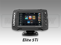 Lowrance Elite-5Ti Touch Screen