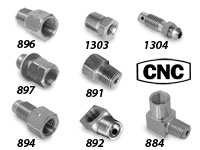CNC Brake Line Fittings