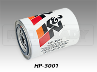 K&N Wrench-Off Performance Gold Oil Filters