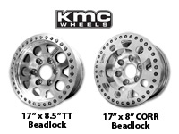 KMC Enduro Race Wheels w/Beadlock
