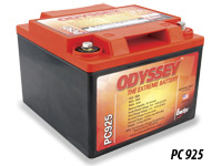 Odyssey Extreme Racing Batteries