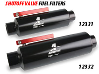 Aeromotive Shutoff Valve Fuel Filters